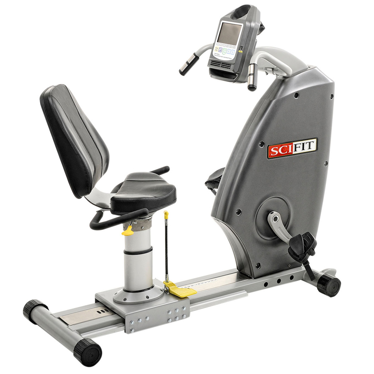 SciFit Recumbent Bike - Forward Only - Step Through - Bariatric Seat