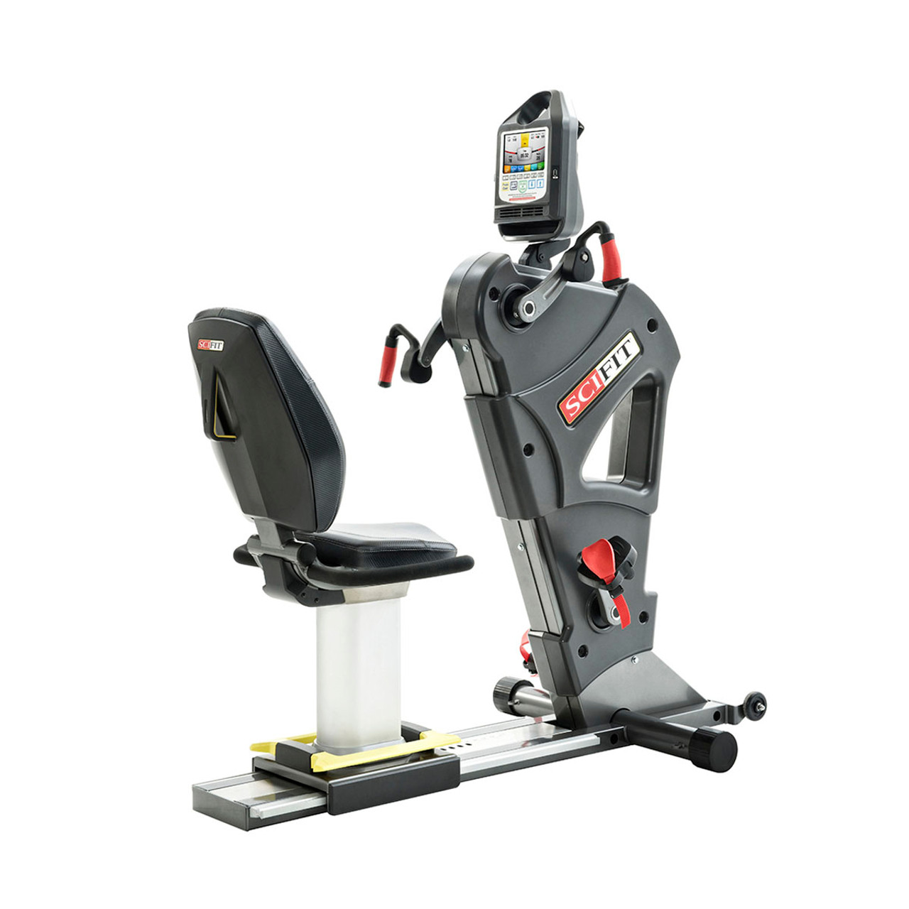 SciFit PRO2 Sport Total Body Exerciser - Adjustable Upper Cranks - Fixed Lower Cranks - Low Back/ Fixed Height Seat
