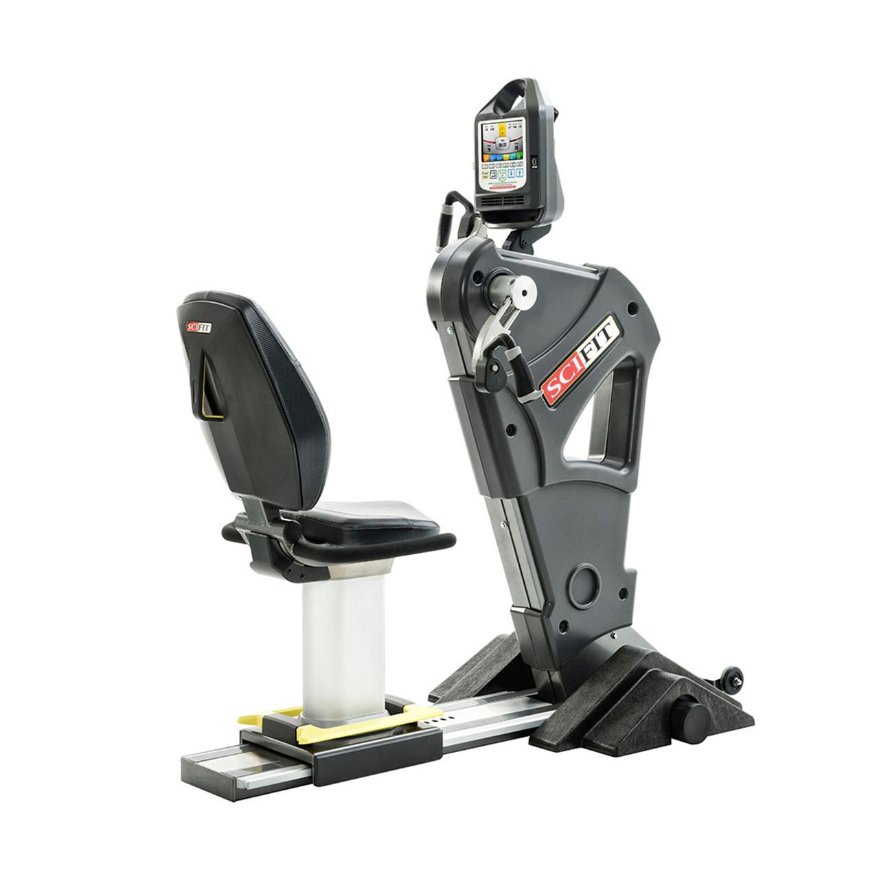 SciFit PRO1000 Sport Upper Body Exerciser - Fixed Cranks - Low Back/ Fixed Height Seat