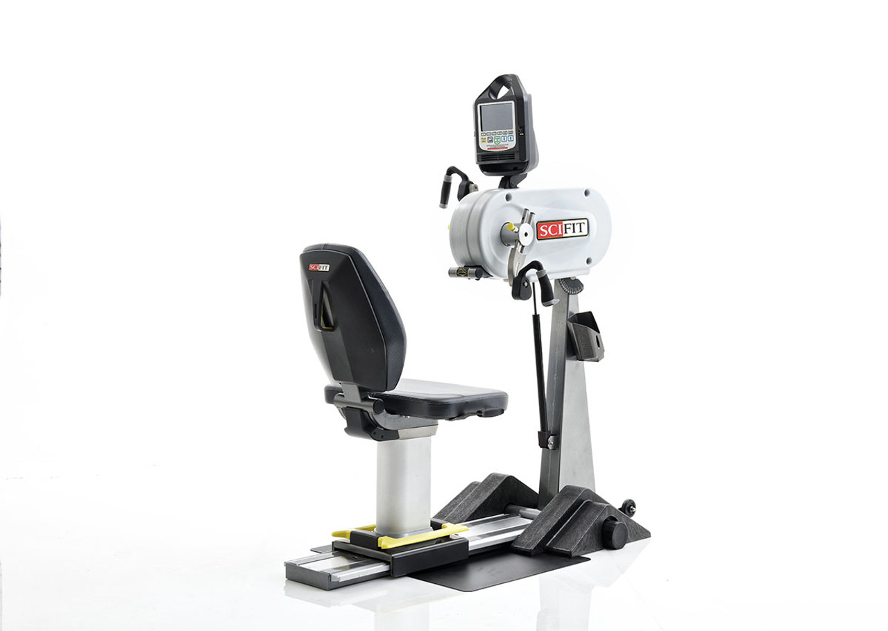 SciFit PRO1 Upper Body Exerciser - Adjustable Tilt Head & Cranks - Bariatric Seat