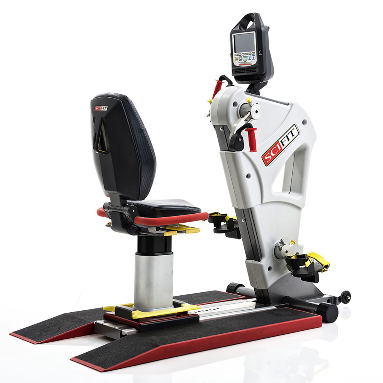 SciFit IF PRO2 Total Body Exerciser with Low Boots & Wheelchair Ramp - Premium Seat