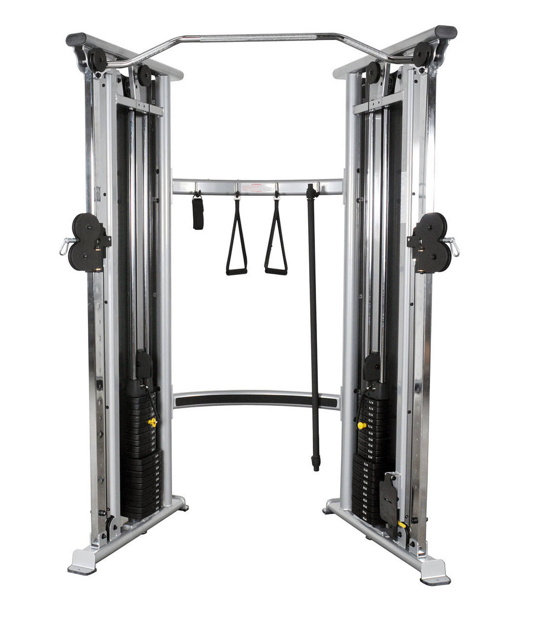 Inflight 2-stack functional trainer with 4:1 weight ratio kit