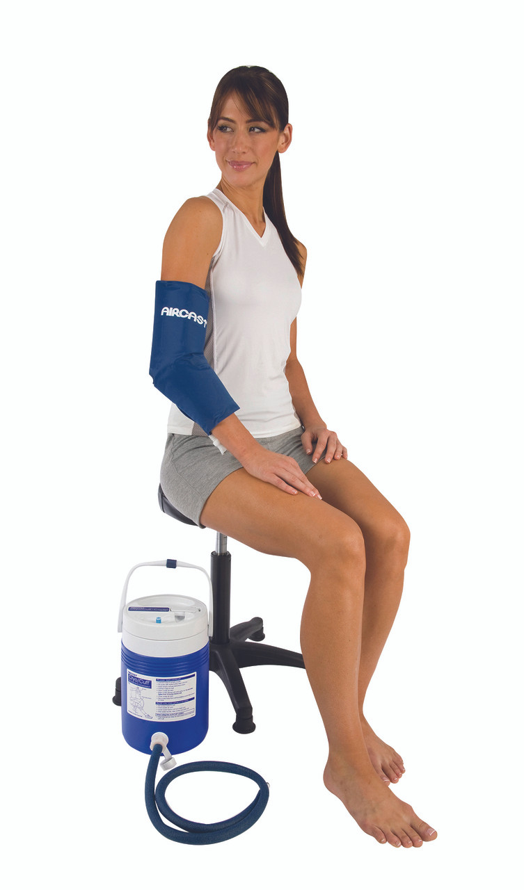 AirCast¨ CryoCuff¨ - elbow with gravity feed cooler