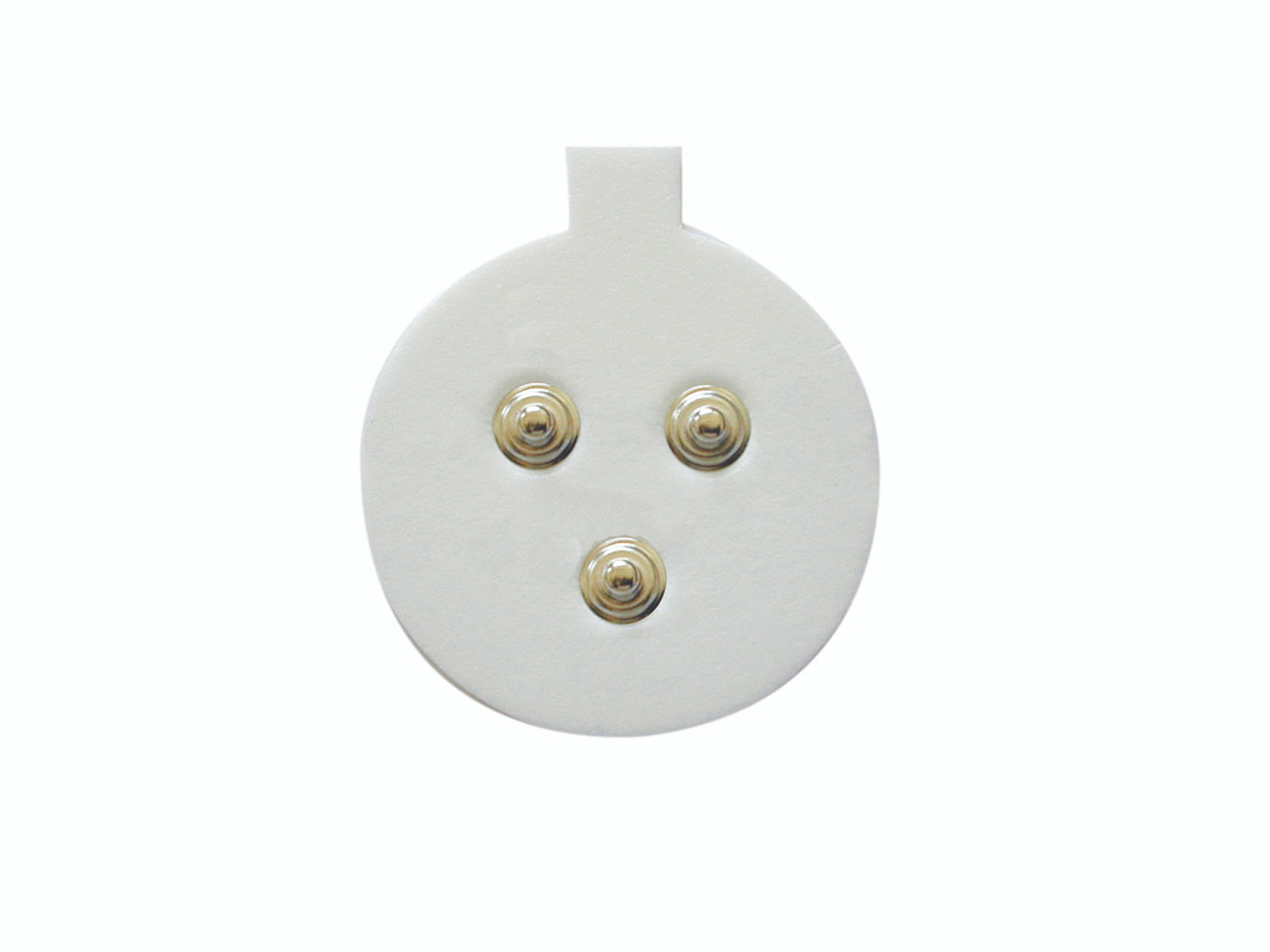sEMG - triode electrodes only, 2 cm circle, case of 100
