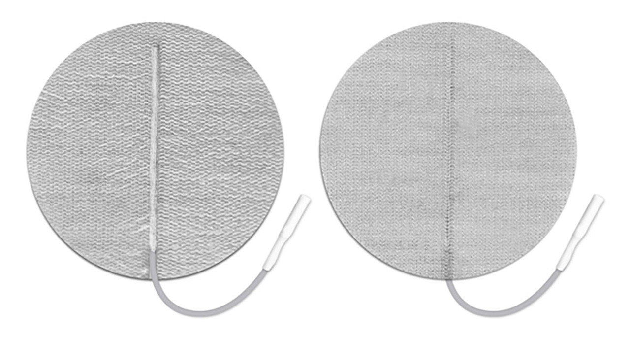 """PALS¨ electrodes, clear poly back, 2.75"""" round, 40/case"""