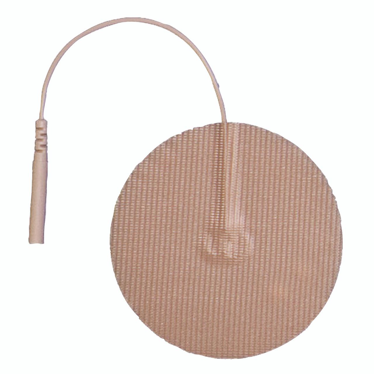 """AdvanTrode¨ Elite Electrode, 2"""" round, tan tricot, 40/box"""
