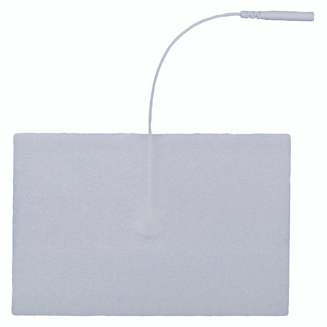 """AdvanTrode¨ Elite Electrode, 3""""x5"""" oval, white foam, 20/box"""
