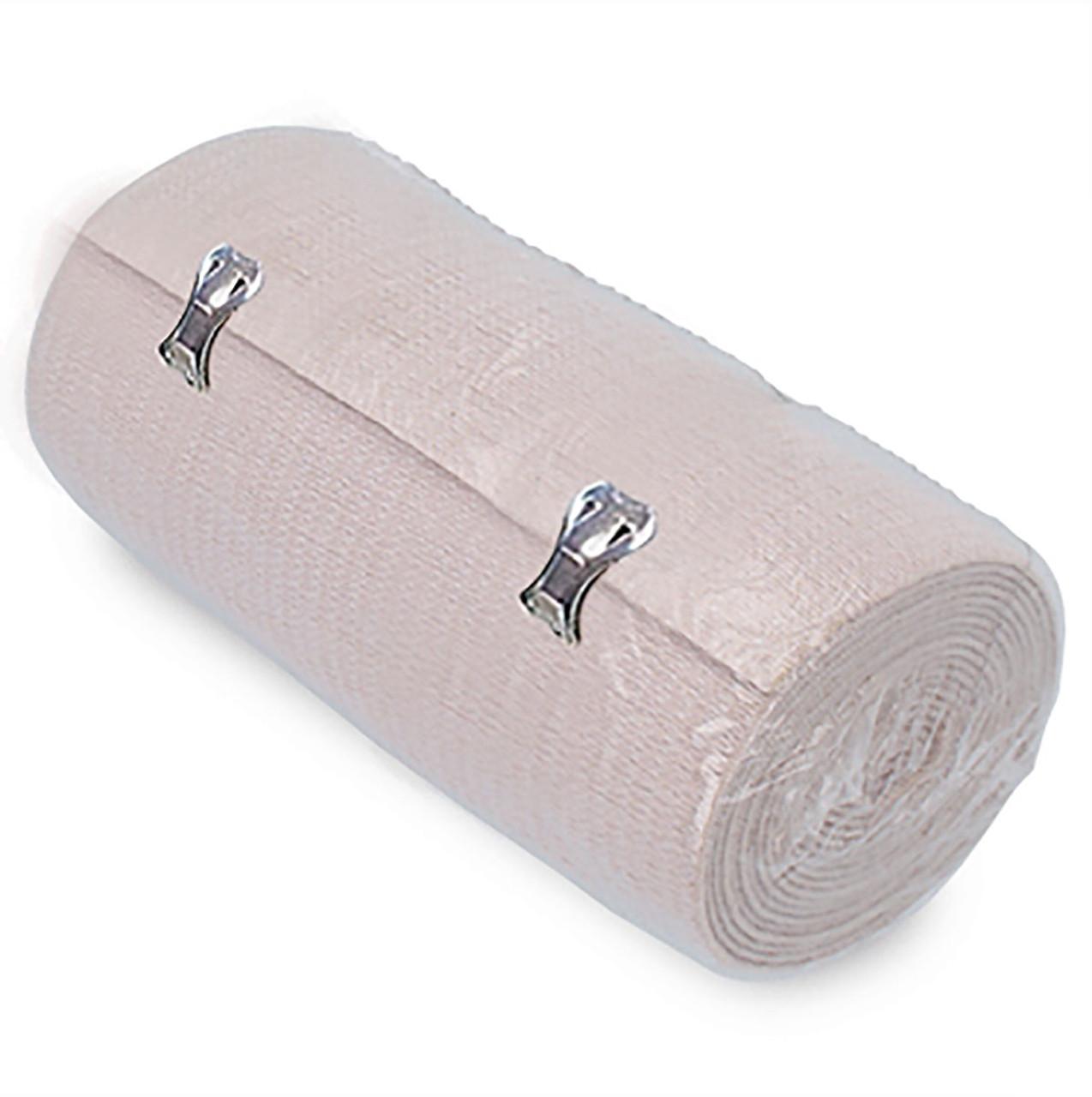 """Ossur Elastic Bandage 4"""" Metal Tab - 10 per pack"""