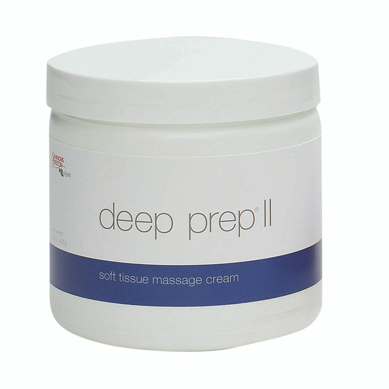 Deep Prep¨ Massage Cream - II cream, 15 oz jar