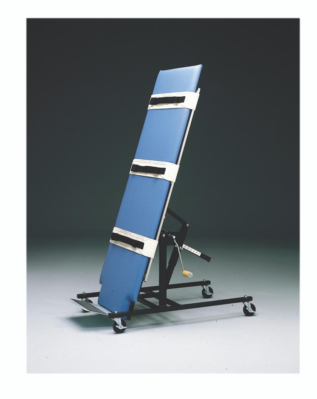 """Tilt Table, economy manual, upholstered, 28"""" x 78"""" x 32"""""""