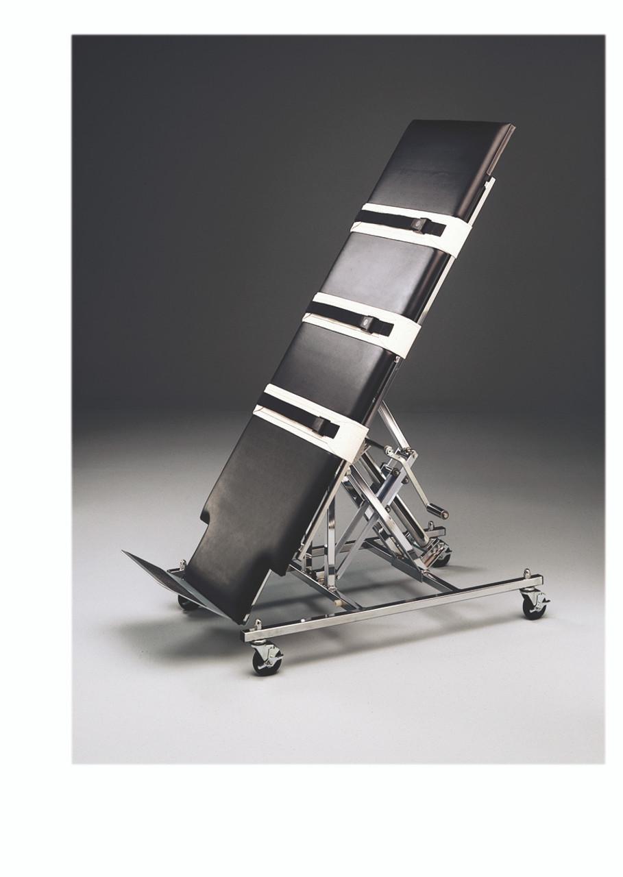 "Tilt Table, professional manual, upholstered, 28"" x 78"" x 32"""