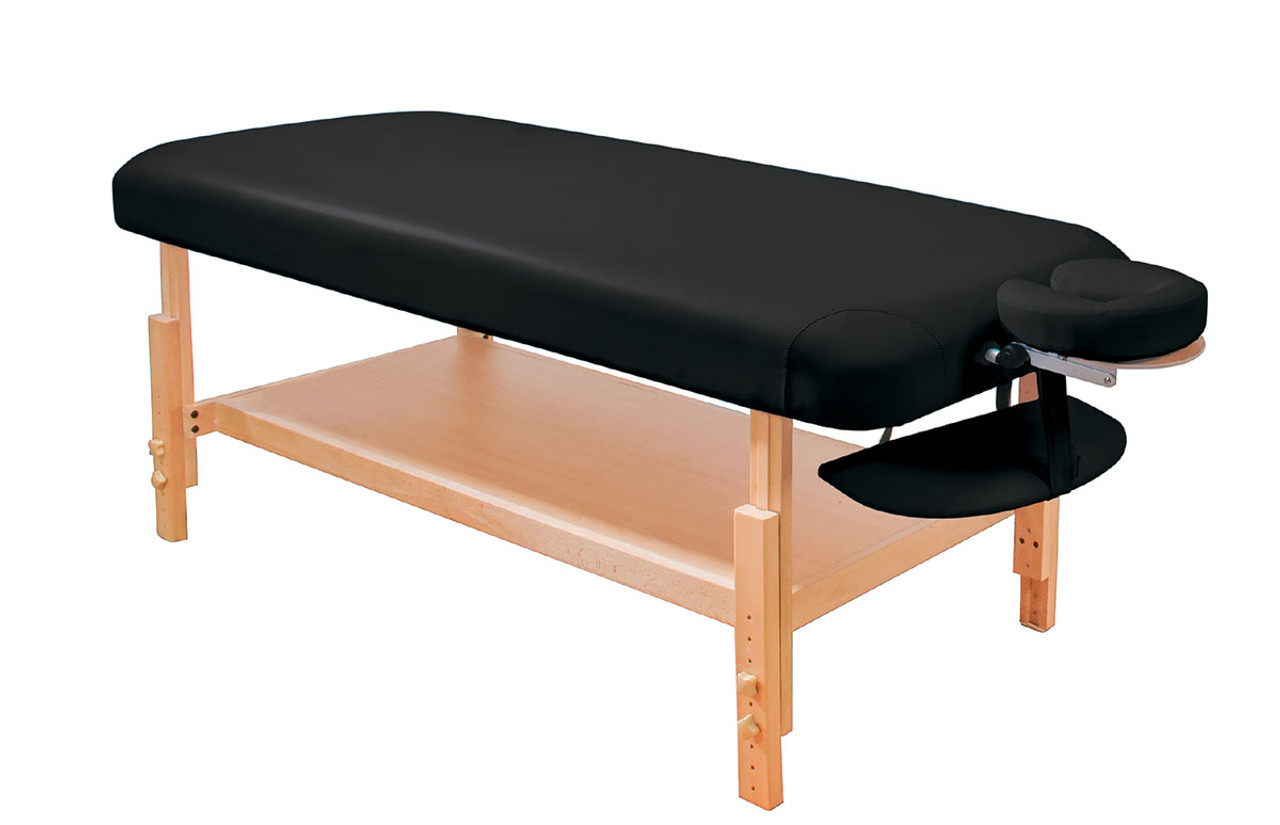 Basic Stationary Massage Table Black