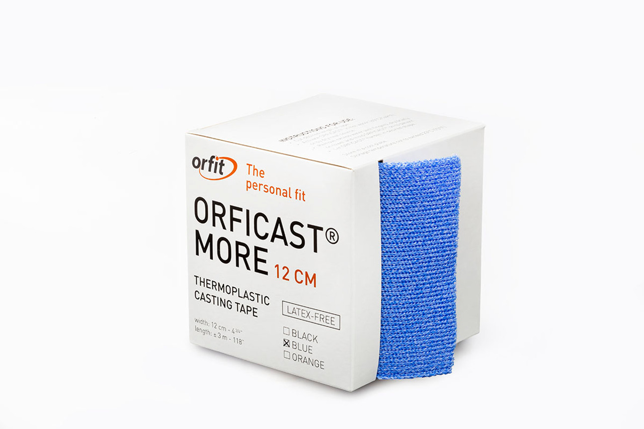 "Orficastª More Thermoplastic Tape, 5"" x 9' (BLUE) - 6 ROLLS/BOX"