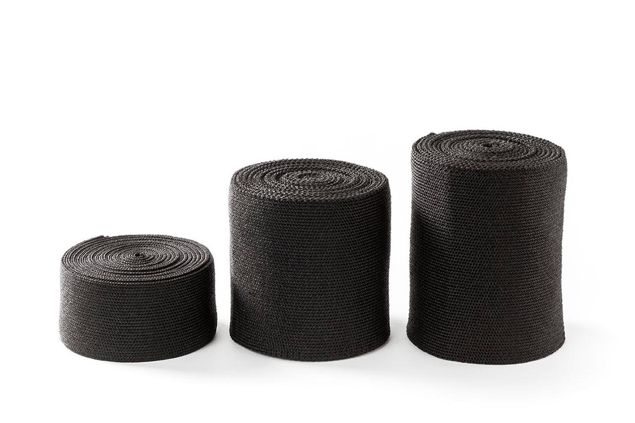 """Orficastª More Thermoplastic Tape, 6"""" x 9' (BLACK) - 6 ROLLS/BOX"""