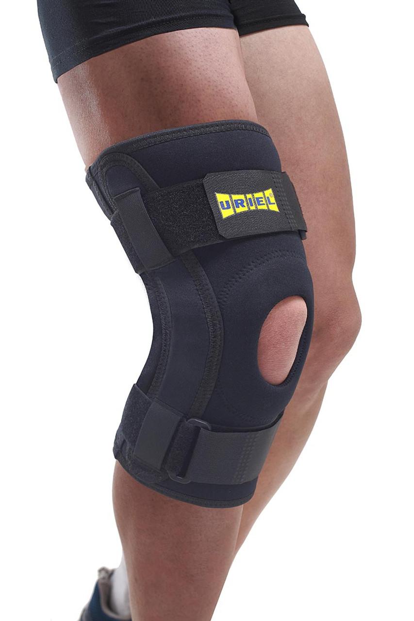 Uriel Hinged Knee Brace, Max Comfort, XX-Large