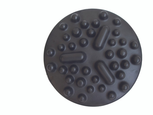 "CanDo¨ Progressive Instability Pad - 20"" diameter - Black - extra-difficult instability, pair"