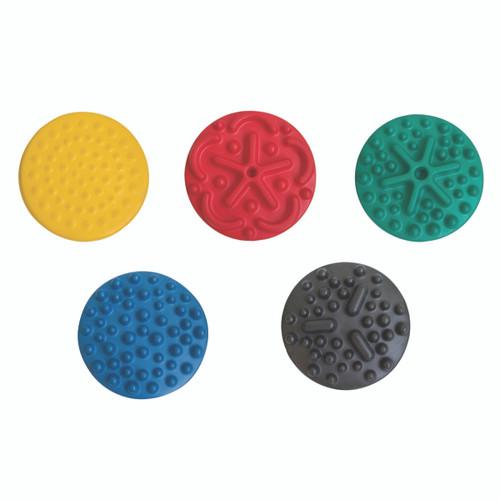 "CanDo¨ Progressive Instability Pad - 20"" diameter - 5-piece set (yellow, red, green, blue, black)"