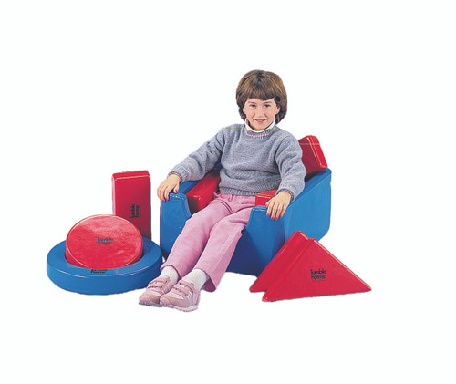 Tumble Forms¨ Square Seat with 8 positioning shapes