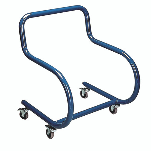 Tumble Forms¨ 2-Piece Mobile Floor Sitter - Steel Base ONLY - x-large - blue