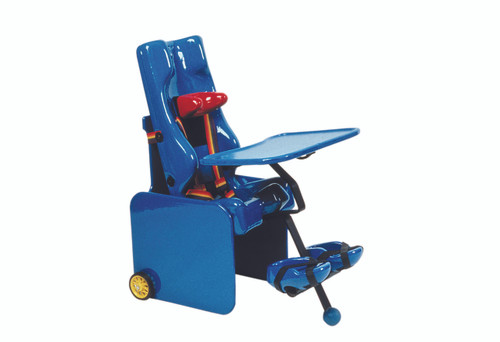 Carrie¨ Seat with Mobile Base, Footrest and Tray - medium
