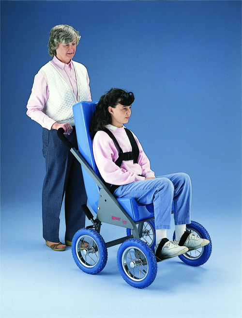 Rover¨ Stroller Frame with Tumble Forms¨ Feeder Seat - medium - blue