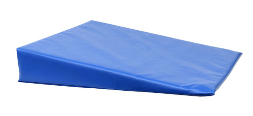 """CanDo¨ Positioning Wedge - Foam with vinyl cover - Medium Firm - 20"""" x 22"""" x 4"""" - Specify Color"""