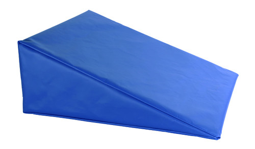 """CanDo¨ Positioning Wedge - Foam with vinyl cover - Firm - 20"""" x 22"""" x 8"""" - Specify Color"""