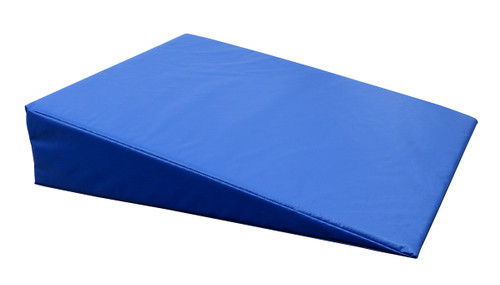 """CanDo¨ Positioning Wedge - Foam with vinyl cover - Firm - 24"""" x 28"""" x 6"""" - Specify Color"""