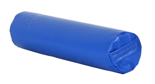 "CanDo¨ Positioning Roll - Foam with vinyl cover - Medium Firm - 18"" x 4"" Diameter - Specify Color"