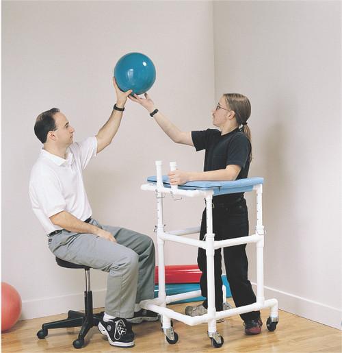 PVC platform walker, pediatric, 30 - 42 inches