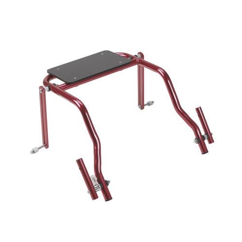 Seat Attachment for Nimbo Posterior Walker, Young Adult, Castle Red