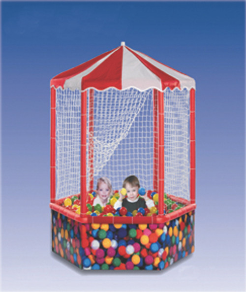 Sensory Ball Environment, 6 sided, 1,000 balls, with side structure/top