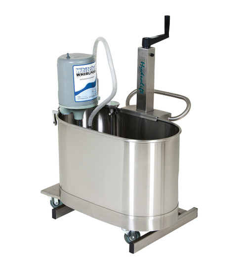HydroLift hi-lo whirlpool lift with 15 gallon extremity tank (E-15-M)