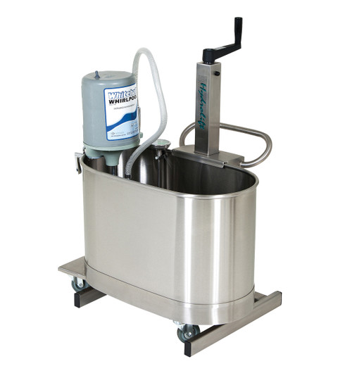 HydroLift hi-lo whirlpool lift with 22 gallon extremity tank (E-22-M)