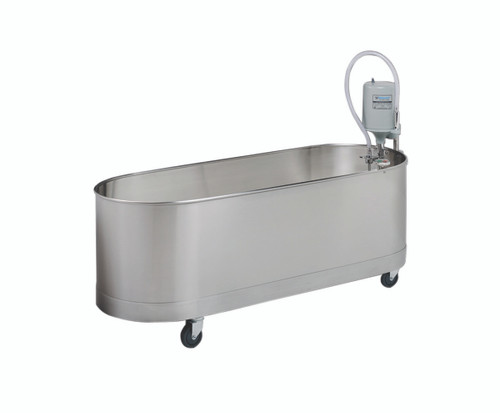 "Low boy mobile whirlpool, L-90-M, 90 gallon, 60""Lx24""Wx18""D"