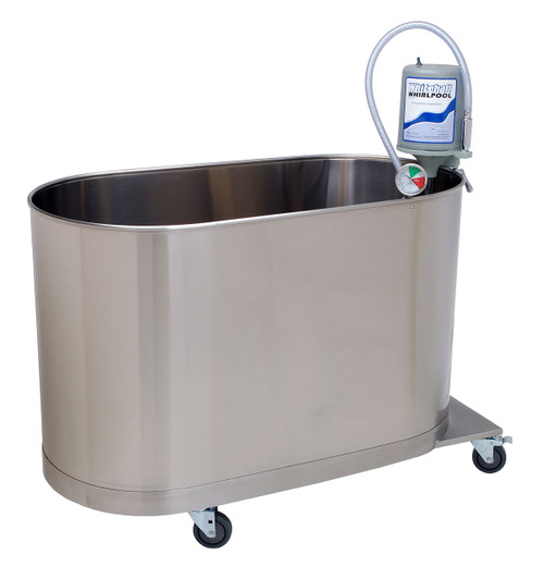 "High boy mobile whirlpool, H-105-M, 105 gallon, 48""Wx24""Wx28""D"