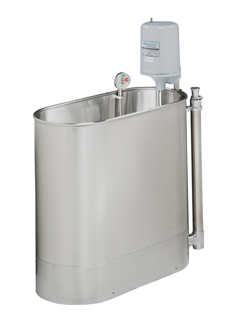 """Extremity stationary whirlpool E-45-S, 45 gallon, 32""""Lx15""""Wx25""""D"""