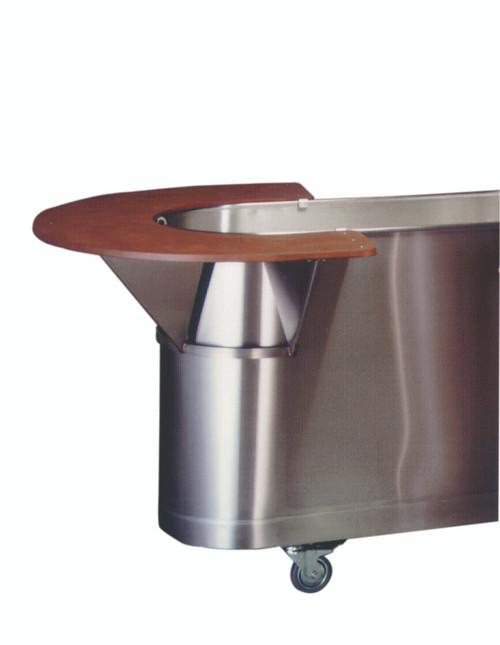 Whirlpool tank top seat - 24 inch