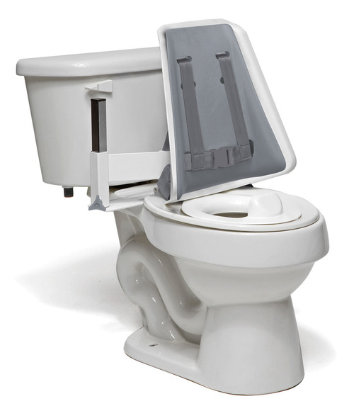 Columbia¨  Toilet Support - High Back (H-brace & Reducer Ring) - Padded - Small
