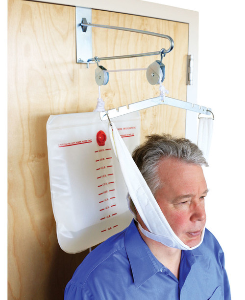 Fabtracª Overdoor Cervical Traction with Head Halter