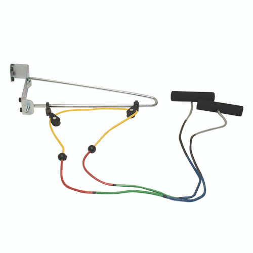 CanDo¨ Overdoor Shoulder Pulley - Double Pulley with Door Bracket - Visualizer¨ Color System