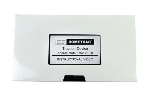 Saunders¨ lumbar traction - HomeTrac instructional video only