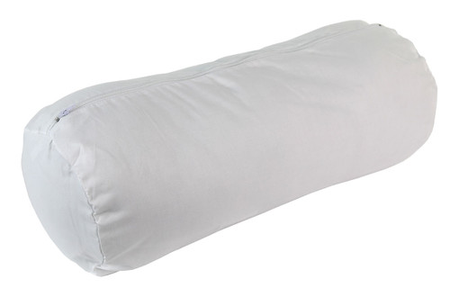"""Roll Pillow - additional white zippered cover ONLY, 7"""" x 17"""""""