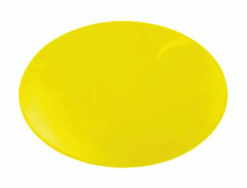 "Dycem¨ non-slip circular pad, 10"" diameter, yellow"
