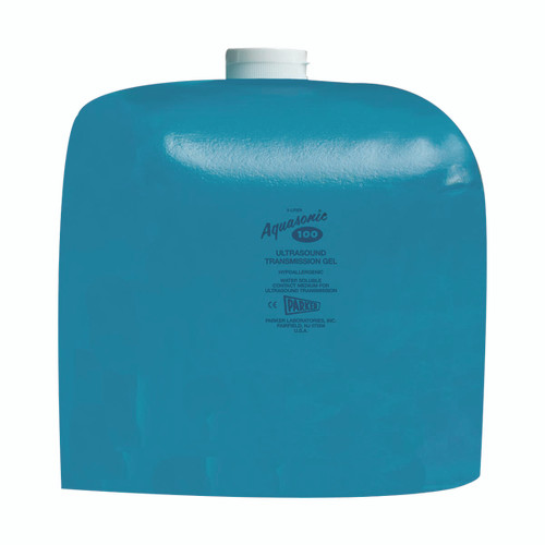 Aquasonic¨ 100 ultrasound gel, 5 liter refillable dispenser - case of 4