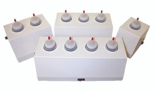 8 ounce gel warmer, 2 bottle capacity