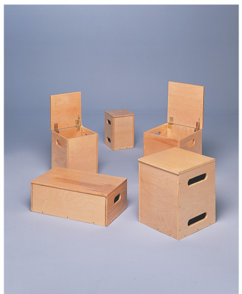 Lifting Box for Work Hardening and FCE - 4-piece Set - 2 ea. 14x14x17, 1 ea. 8x8x12, 1 ea. 10x10x14 inch