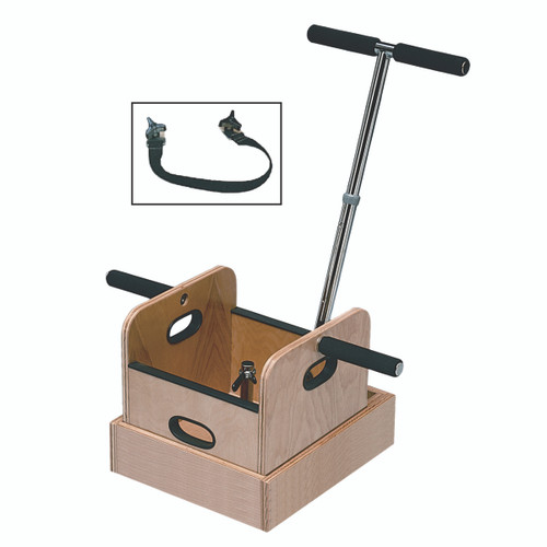 FCE Work Device - Weighted Sled with T-handle and Accessory Box