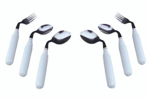 Utensil, comfort grip, 3 oz. Left handed soup spoon