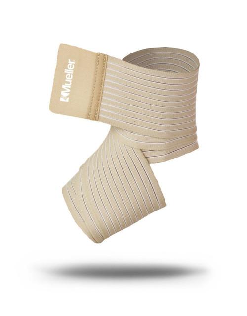 "Mueller¨ Wonder Wrapª elastic and nylon wrap, Beige, 3"" x 4.5 ft, L/XL"